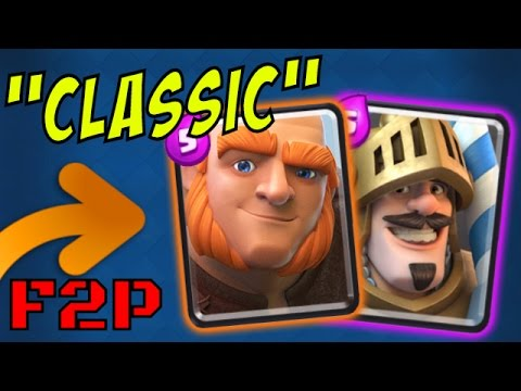 "GIANT / PRINCE :: NO LEGENDARY Deck :: Clash Royale ""The Classic"""