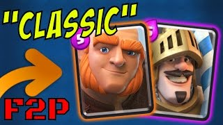 GIANT / PRINCE :: NO LEGENDARY Deck :: Clash Royale