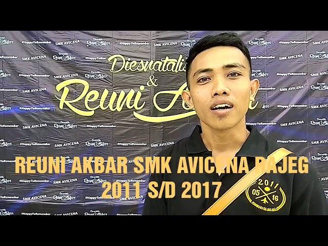 Reuni Akbar SMK AVICENA RAJEG 2011 S/D 2017