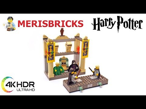 REVIEW LEGO Harry Potter Set 4733 The Dueling Club - Lego SpeedBuild Review 4K #LEGO #LegoSpeedBuild