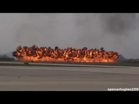 2010 Davis-Monthan AFB Air Show - A-10 Warthog West Demonstration & Heritage Flight