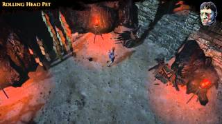 Path of Exile - Rolling Head Pet