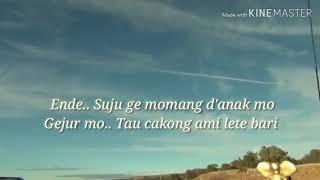 Lagu manggarai Du lari koe (PapicK) Karaoke