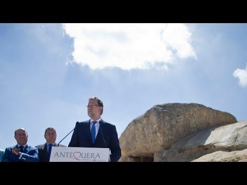 Dólmenes Antequera Patrimonio Humanidad recibe el apoyo de Mariano Rajoy | Vídeo