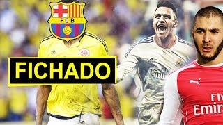 Cerrado: Colombiano ficha por el Barca   'Alexis por Benzema'