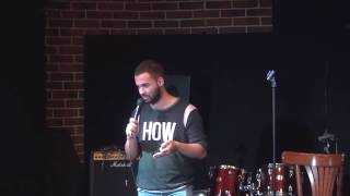 Гарик Оганисян - Мальчик-мужчина, армянский язык и группа Корни