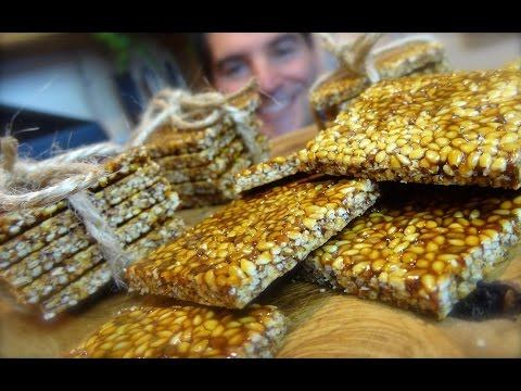 Sesame Snaps: Honey-laced seed treat