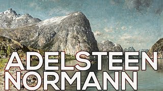 Adelsteen Normann: A collection of 50 paintings (HD)