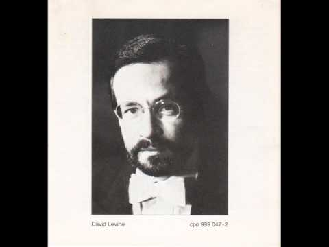 David Levine (Piano) plays MAX REGER İmprovisationen opus 18.wmv