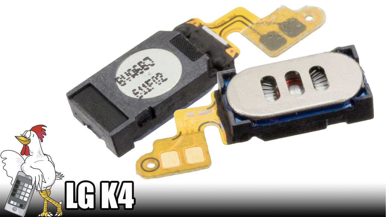 5cd266870cd Guía del LG K4 (LG-K120E): Cambiar auricular - YouTube
