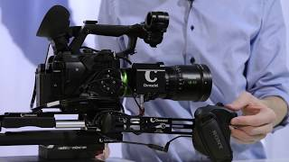 How to Control: servo unit Fujinon MK zoom lens Chrosziel CDM-MK-Z