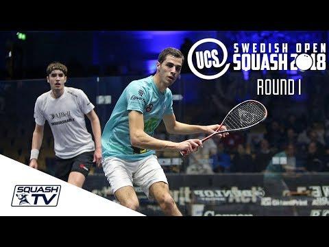 Squash: Swedish Open 2018 - Rd 1 Roundup [Pt.2]