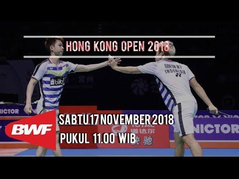 Jadwal Pertandingan Semifinal Hong Kong Open 2018, Duel Wakil Indonesia di Ganda Putra Mp3