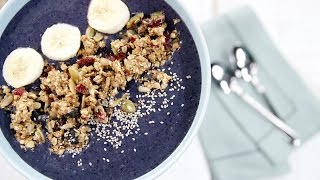 Berry Smoothie Bowl Recipe - Le Gourmet TV 4K