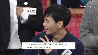 a compilation of sanggyun being a narcissist [jbj things #1]
