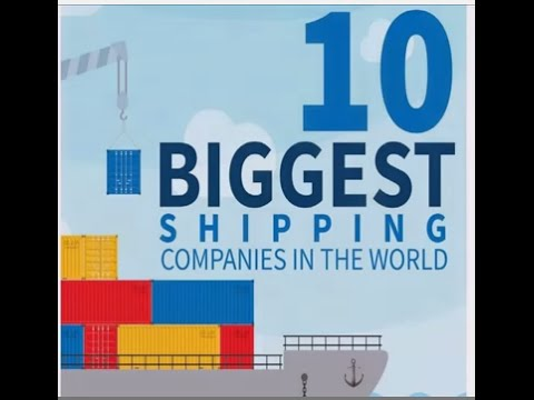 10 biggest shipping companies