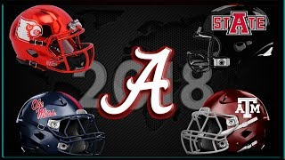 Alabama Football 2018 Schedule Preview | The First 4 Games