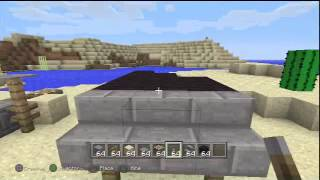 Minecraft How to build cool stuff (PS3 Edition)