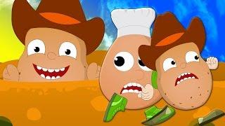 Una patata due patate   canzoni per bambini   contando i numeri canzone   One Potato Two Potatoes