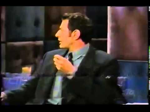 Conan O'Brien 'Jeff Goldblum 10/8/98