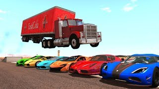 BeamNG.Drive - Random Vehicle Crash Testing #12