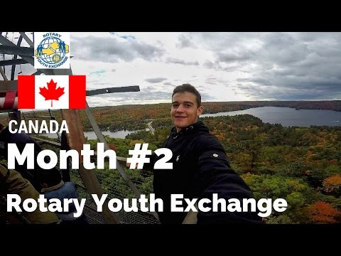 Month #2 Rotary Youth Exchange Canada - GoPro Hero 4