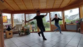 """HK  - """"Danser encore""""  - Danse en ligne (Démo et tutoriel)"""