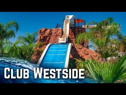All Water Slides At Club Westside Water Park In Houston, Texas!