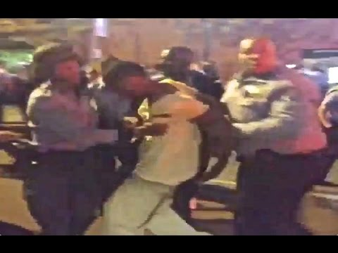 Shaw Shooting Looting Riots Protesters in Ferguson St. Louis - Protest UNARMED Vonderrick Myer!!!