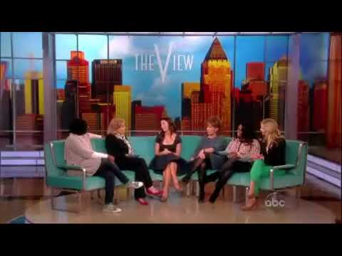 Caterina Scorsone on The View