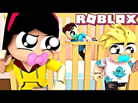 We Need Diaper-Man's HELP! - ROBLOX Escape Day Care Obby with Chad & MicroGuardian