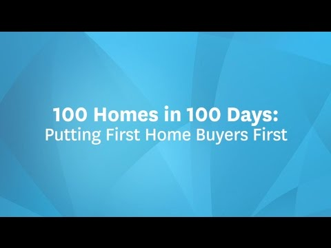 100 Homes in 100 Days Initiative