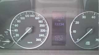 Kasowanie Inspekcji MERCEDES C klasa W203 Service Oil Indicator Light Reset MERCEDES C Class W203