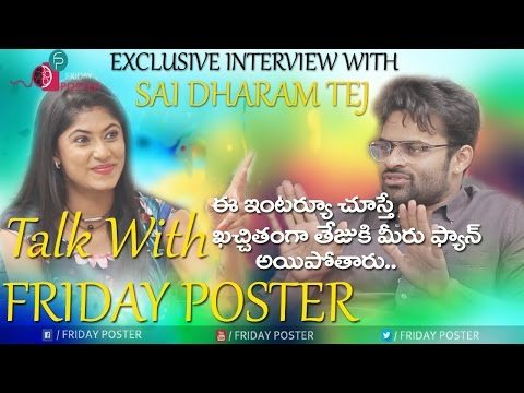Sai Dharam Tej Exclusive Interview | Winner | Rakul Preet Singh | Talk With Friday Poster