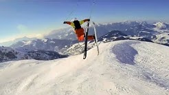 ► Les prouesses du skieur Candide Thovex ! (compilation)