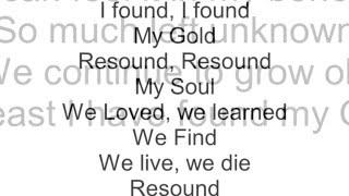 Vinyl Theatre: Gold (lyrics)