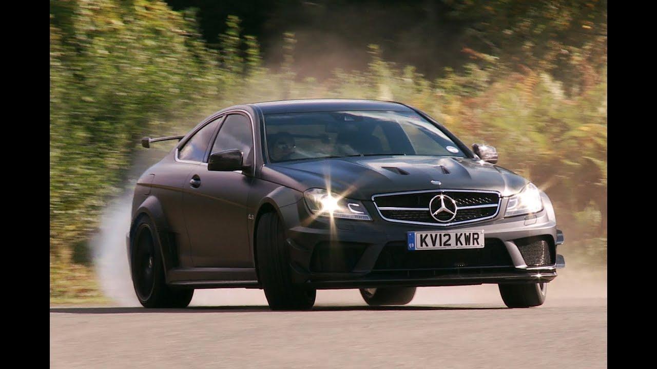C63 Amg Black Series >> Mercedes C63 AMG Black Series by www.autocar.co.uk - YouTube