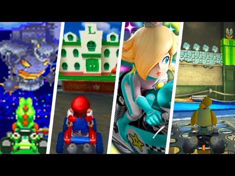 Evolution Of Mario Kart Easter Eggs (2001 - 2019)