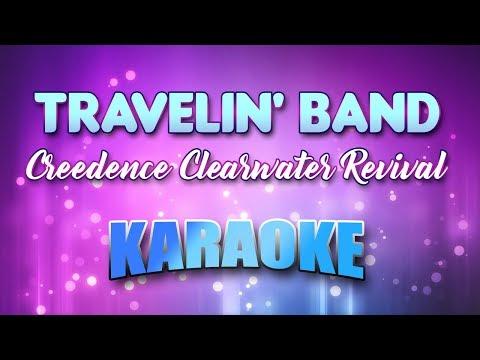 Creedence Clearwater Revival - Travelin' Band (Karaoke & Lyrics)