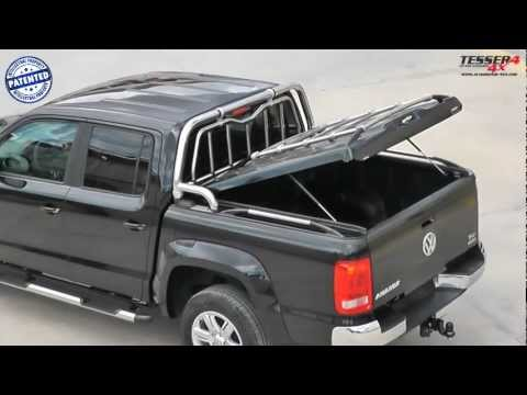 At www.accessories-4x4.com: VW Amarok cover lid pick up offroad 4x4 accessories vs