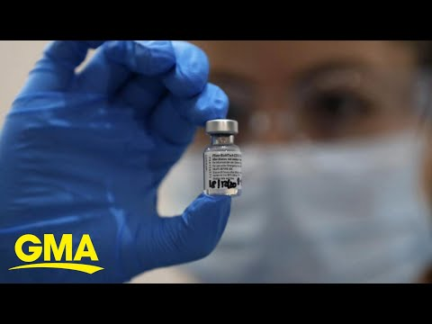 Pfizer's Historic COVID-19 Vaccine Shipping Out | GMA