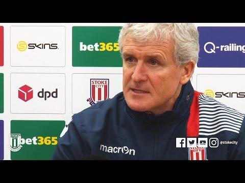 Mark Hughes Everton Press Conference