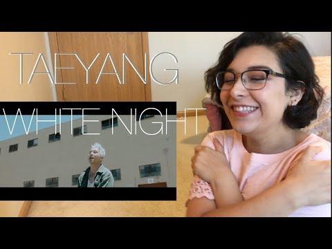 TAEYANG   WHITE NIGHT 'Intro' | REACTION