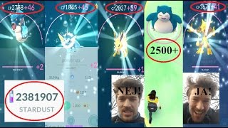 pokemon go best power ups ever best pokemon crazy snorlax catch joh...