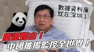 (中字) 鐵證如山中國被揭監控全世界數據資料庫就在深圳〈蕭若元枕邊閒話〉20200915