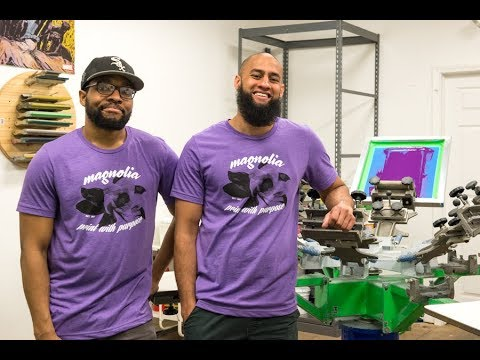 Magnolia Screen Printing provides jobs for the young people of Chicago Lawn.
