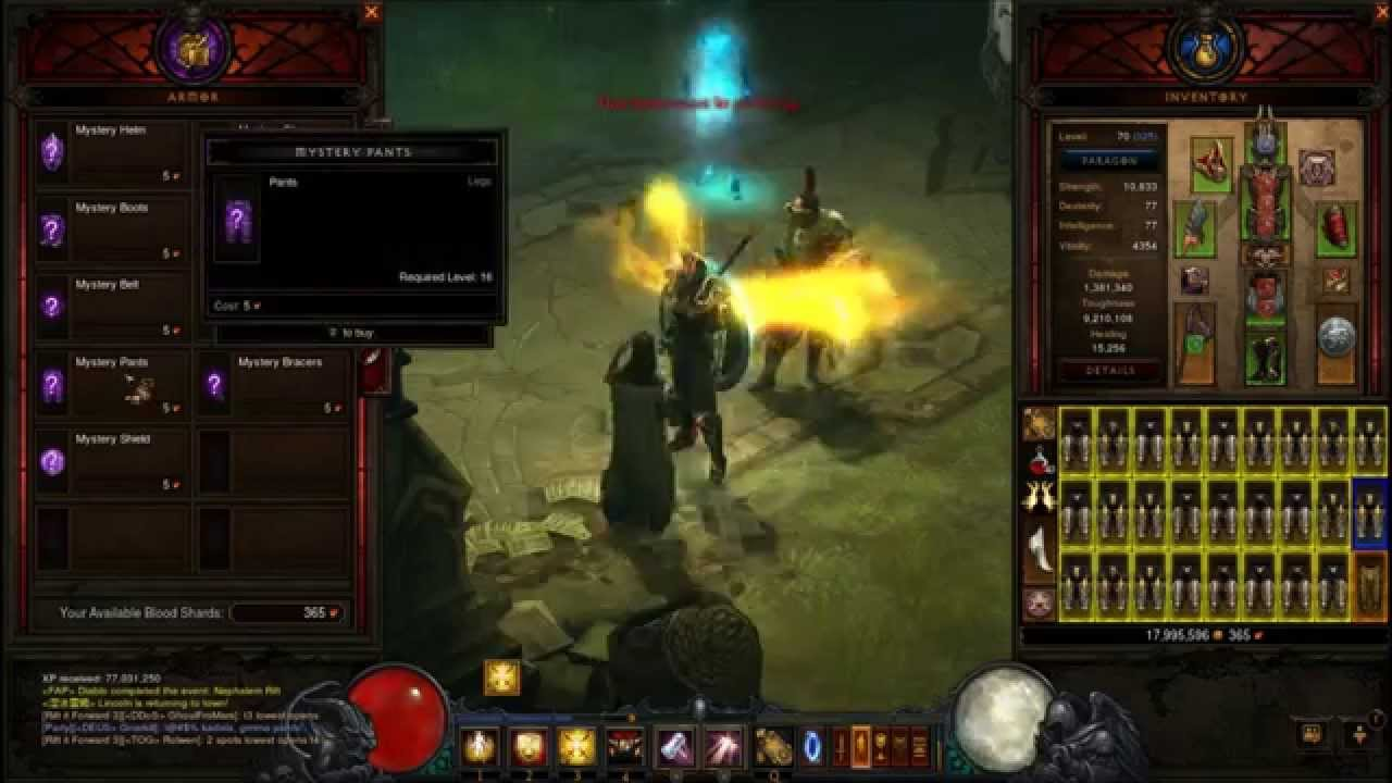 how to get blood shards diablo 3