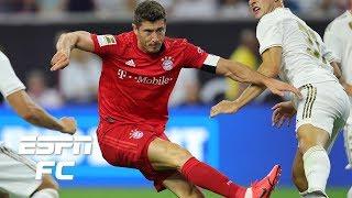Robert Lewandowski scores in Bayern Munich win vs. Real Madrid | International Champions Cup