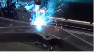 Transformations during welding of HSLA steels