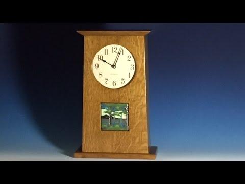 A Mission Mantel Clock